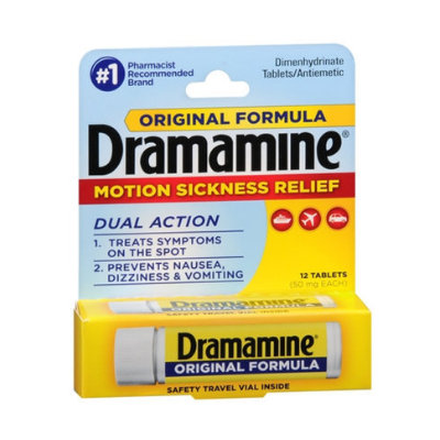 Dramamine Original Formula Motion Sickness Relief Tablets