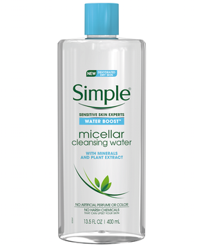 Simple® Skincare Water Boost™ Micellar Cleansing Water