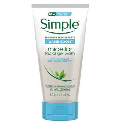Simple® Skincare Water Boost™ Micellar Gel Wash