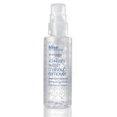 bliss lid + lash makeup remover