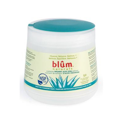 Blum Naturals Daily Eye Cleansing Pads