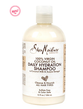 SheaMoisture 100% Virgin Coconut Oil Daily Hydration Shampoo