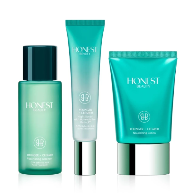 Honest Beauty® Younger + Clearer™ Anti-Acne + Anti-Aging Kit