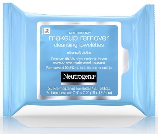Neutrogena makeup wipes