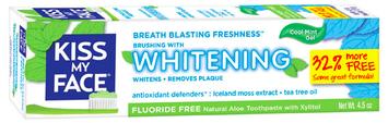 Kiss My Face Fluoride Free Whitening Gel