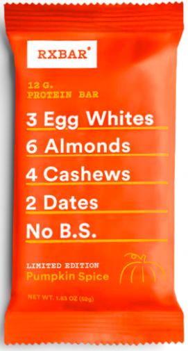 RXBAR Pumpkin Spice Protein Bar