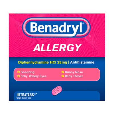 BENADRYL® Allergy ULTRATAB® Tablets
