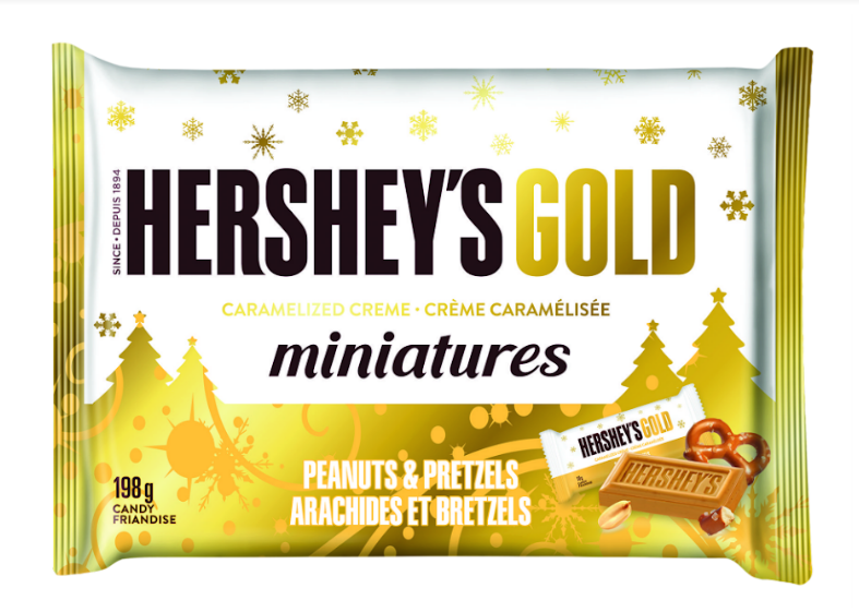 HERSHEY's Gold Caramelized Creme Miniatures