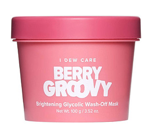 I Dew Care Berry Groovy Brightening Glycolic Wash-Off Mask