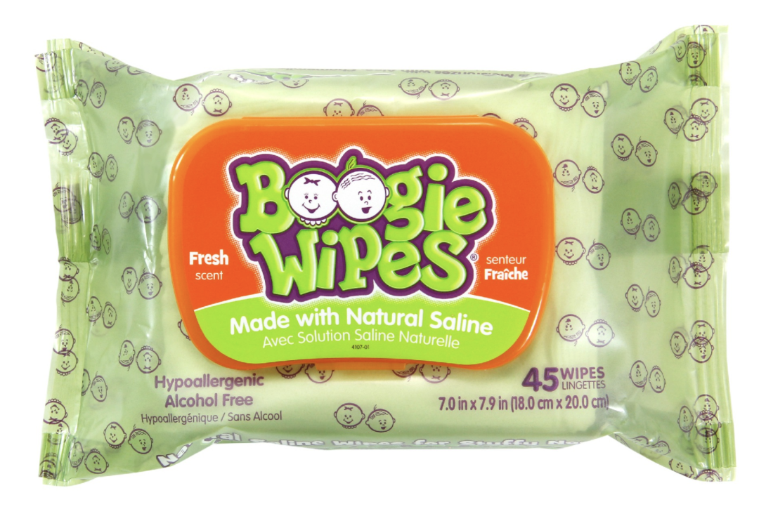 Boogie Wipes® Saline Nose Wipes Fresh Scent