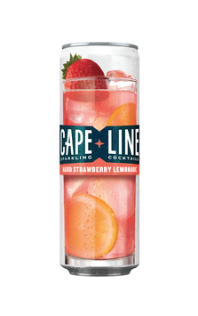 Cape Line Sparkling Cocktails, Strawberry Lemonade, Gluten Free