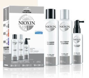 Nioxin System Kit 1 - Natural Hair with Light Thinning