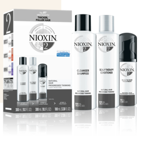 Nioxin Hair System Kit 2: Natural Hair with Progressed Thinning