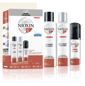 Nioxin System Kit 4: Colored Hair with Progressed Thinning