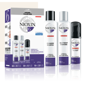 Nioxin System 6 Kit: Chemically Treated Hair with Progressed Thinning
