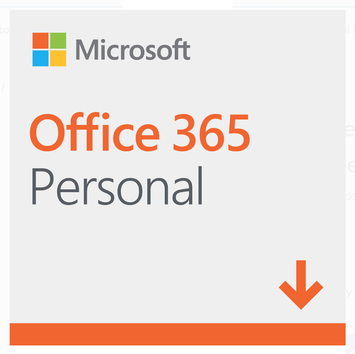 Microsoft Office 365 Personal | 12-month Subscription, 1 person, PC/Mac Download