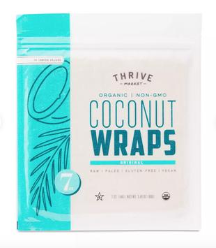 Thrive Market Organic Coconut Wraps, Original