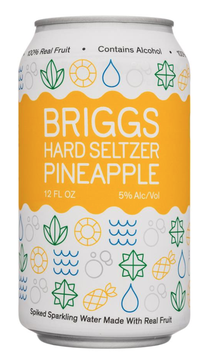 BRIGGS HARD SELTZER Pineapple