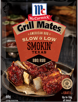 McCormick® Grill Mates® Smokin Texas Slow and Low BBQ Rub