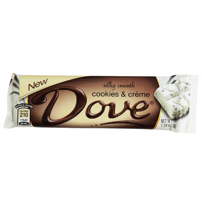 Dove Chocolate Cookies And Creme