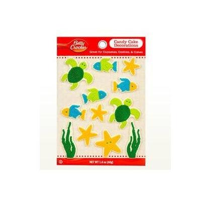 Betty Crocker™ Alphabet Assortment SeaLife Candy Card Decoration