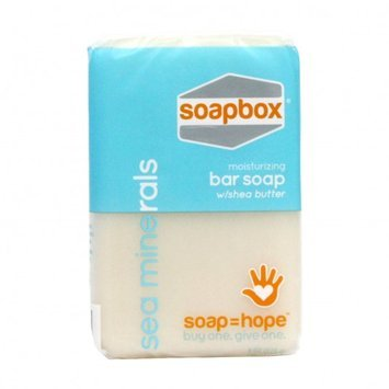 SoapBox Soaps Sea Minerals Bar Soap