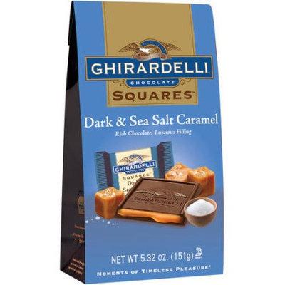 Ghirardelli Chocolate Dark Chocolate Sea Salt Caramel Square