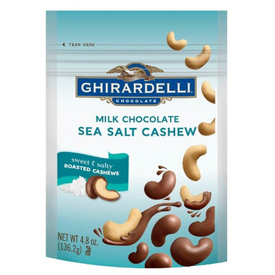 Ghirardelli Chocolate Milk Chocolate Sea Salt Roasted Cashews