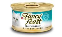 Fancy Feast® Classic Seafood Gourmet Wet Cat Food
