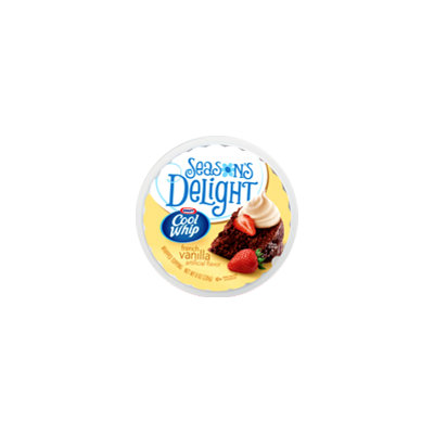 Cool Whip Season's Delight French Vanilla Whipped Topping