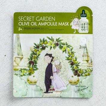 Sally's Box Secret Garden Face Mask Olive Oil Ampoule Mask