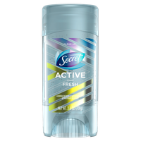 Secret® Active Fresh Clear Gel Antiperspirant and Deodorant