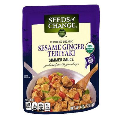 Seeds of Change® Certified Organic Simmer Sauce Sesame Ginger Teriyaki