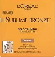 L'Oréal Paris Sublime Bronze™ Towelettes for Body