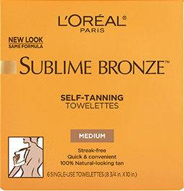 L'Oréal Paris Sublime Bronze™ Self Tanning Towelettes