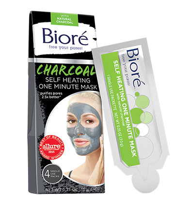 biore charcoal mask
