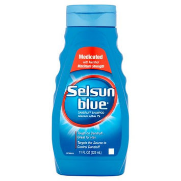Selsun Blue Medicated with Menthol Dandruff Shampoo