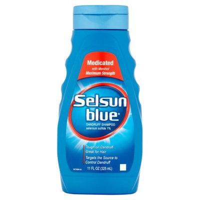 Selsun Blue Medicated with Menthol Dandruff Shampoo