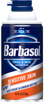 Barbasol® Sensitive Skin Thick & Rich Shaving Cream
