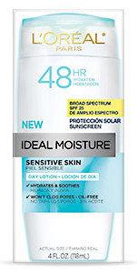 L'Oréal Paris Ideal Moisture™ Sensitive Skin Day Lotion SPF 25