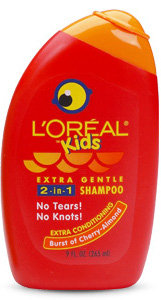 L'Oréal Paris Kids Extra Gentle 2-in-1 Shampoo With a Burst of Cherry Almond