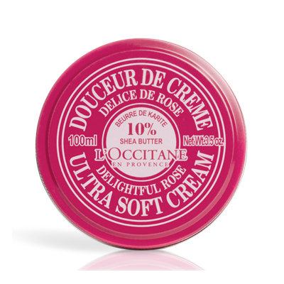 L'Occitane Shea Butter Ultra Soft Cream Rose Heart