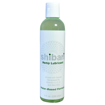 Shibari Hemp Infused Water-based 8-ounce Lubricant