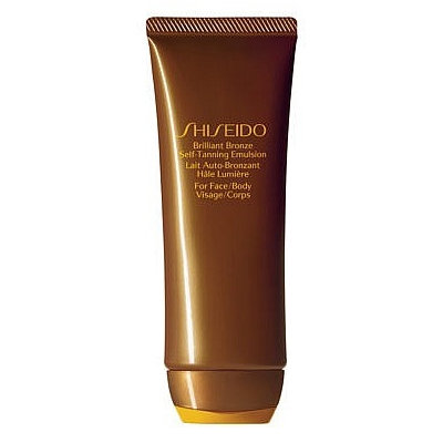 Shiseido Brilliant Bronze Self-Tanning Emulsion (Face and Body)