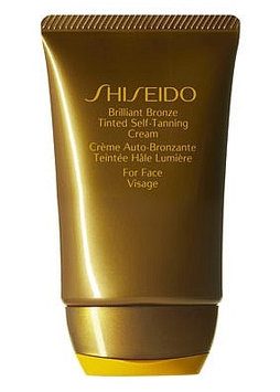 Shiseido Brilliant Bronze Tinted Self-Tanning Cream (for Face)