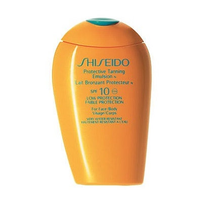 Shiseido Protective Tanning Emulsion N SPF 10 (Face and Body)