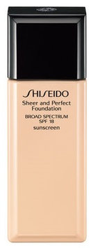 Shiseido Sheer and Perfect Foundation