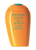 Shiseido Tanning Emulsion N SPF 6 (Face and Body)