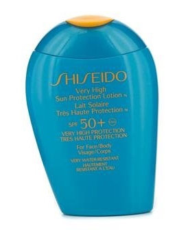 Shiseido Very High Sun Protection Lotion N SPF 50+ For Face & Body
