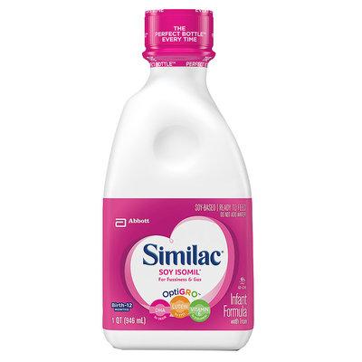 Similac® Soy Isomil® Ready To Feed Infant Formula